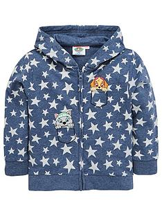 paw-patrol-girls-zip-thru-hoody