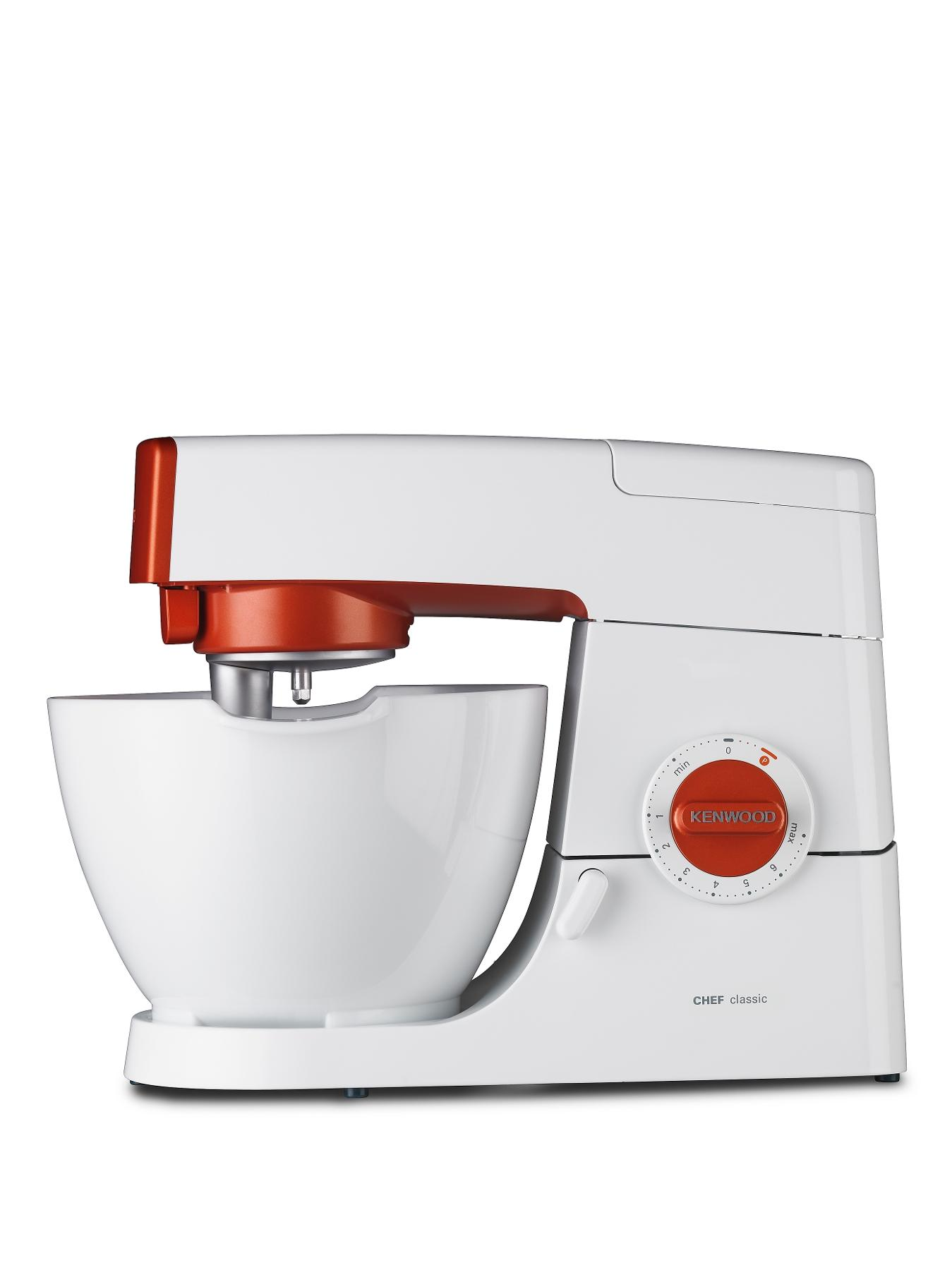 Kenwood Classic Chef Nostalgia - Calypso Orange