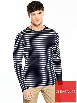 river-island-ls-muscle-stripe-tshirt