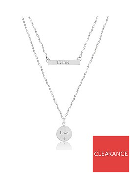 keepsafe-personalised-sterling-silver-and-cubic-zirconia-layer-necklace