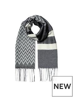 river-island-girls-mono-check-scarf