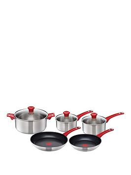tefal-jamie-oliver-5-piece-cookware-set-stainless-steel