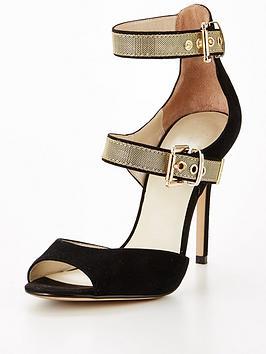 karen-millen-metal-buckle-strap-sandal