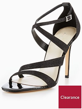 karen-millen-continuity-glitter-sandal