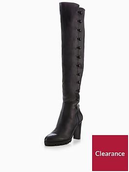 karen-millen-cleated-sole-military-knee-boot