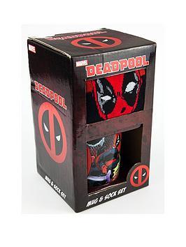 marvel-deadpool-mug-and-sock-set