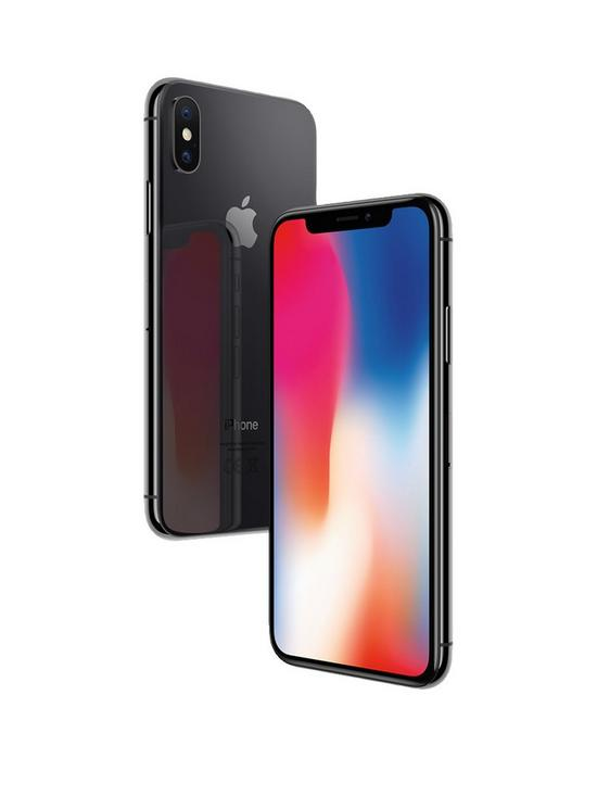4788dba0f3d Apple iPhone X, 64Gb - Space Grey | very.co.uk