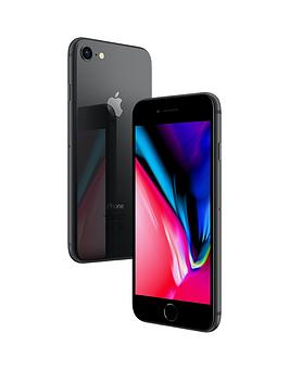 Apple iPhone 8 256 GB UK SIM-Free Smartphone - Space Grey Best Price and Cheapest