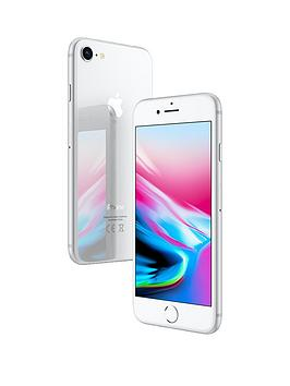 Apple iPhone 8 64 GB UK SIM-Free Smartphone - Silver Best Price and Cheapest