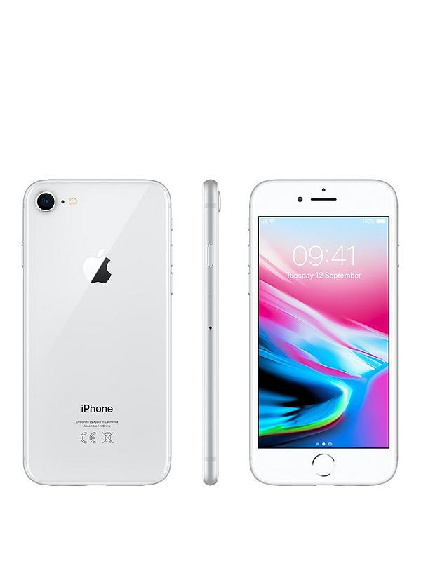iphone 8 64gb silver new