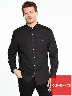 v-by-very-long-sleeve-oxford-shirt-black