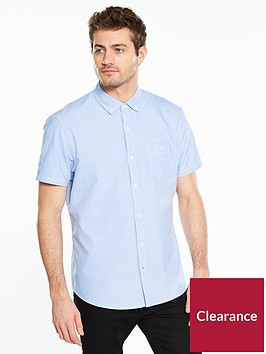 v-by-very-short-sleeve-oxford-shirt-bluenbsp