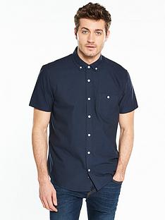 v-by-very-short-sleeve-oxford-shirt--nbspnavy