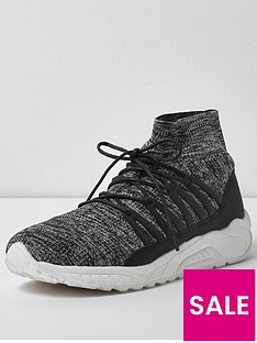 river-island-knitted-sports-trainer