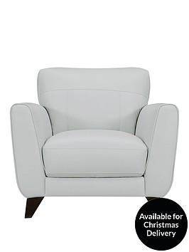 ideal-home-portman-luxury-leatherfaux-leather-armchair