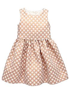mini-v-by-very-girls-spot-prom-jacquard-dress