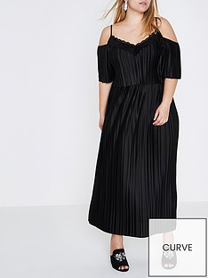 ri-plus-frill-maxi-dress--black