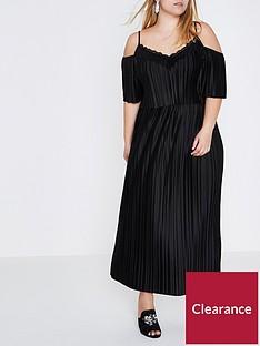 ri-plus-frill-maxi-dress--black