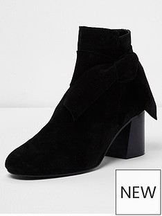 river-island-river-island-suede-side-bow-ankle-boot