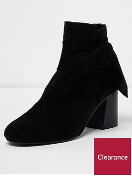river-island-suede-side-bow-ankle-boot