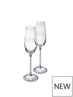 personalised-set-2-stem-flutes-filled-with-crystals