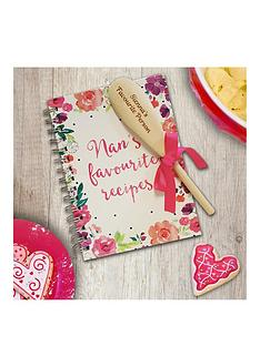 personalised-nans-fave-recipe-book-with-wooden-spoon