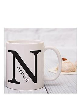 personalised-monogram-mug