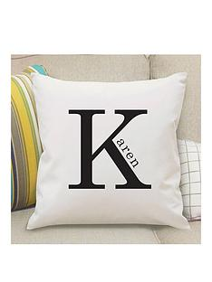 personalised-monogram-cushion-with-pad