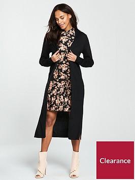 v-by-very-corset-back-maxi-cardigan-black
