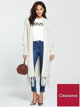 v-by-very-fringe-sleeve-and-hem-longline-cardigan-cream
