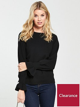 v-by-very-flare-cuff-jumper