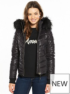 river-island-river-island-padded-high-shine-coat--black