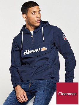ellesse-mont-half-zip-hooded-jacket
