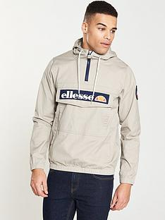 ellesse-mont-half-zip-hooded-jacket