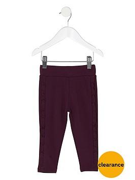 river-island-mini-girls-dark-purple-ruffle-side-leggings