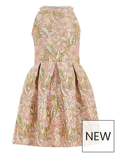 river-island-girls-pink-floral-brocade-prom-dress
