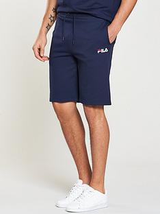 fila-black-line-tanaro-fleece-shorts