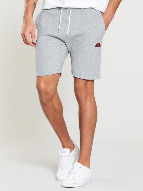 ellesse-noli-fleece-shorts-grey-marl