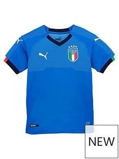 puma-puma-junior-home-italy-world-cup-18-replica-shirt