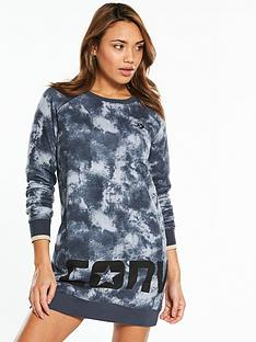 converse-print-long-sleeve-dress-multinbsp