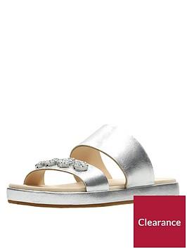 clarks-botanic-lily-jewel-slide-sandal-silver-metallic