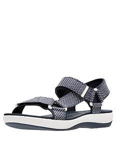 clarks-brizo-cady-velcro-strap-flat-sandal-navywhite