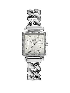 guess-guess-vanity-stone-set-bezel-square-dial-stainless-steel-bracelet-ladies-watch