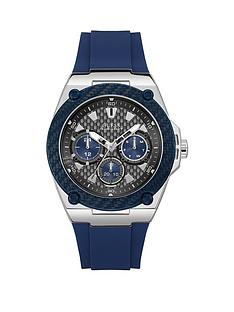guess-legacy-navy-silicone-mens-watch