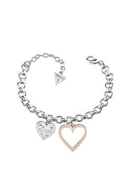guess-2-tone-heart-in-heart-bracelet