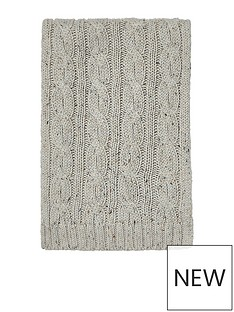 river-island-river-island-mens-neppy-cable-scarf