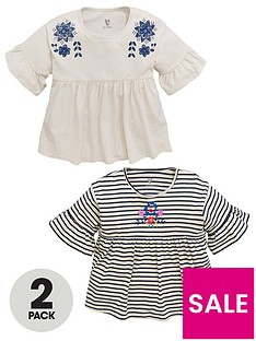 v-by-very-2-pack-peplum-printed-frill-tops