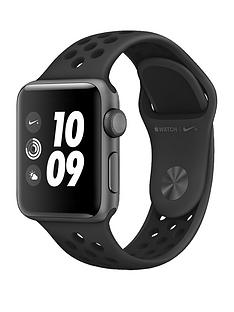 Apple Watch Nike+ Series 3 (GPS), 38mm Space Grey Aluminium Case with Anthracite/Black Sport Band