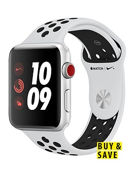 apple-watch-nike-series-3-gps-cellularnbsp42mm-silver-aluminium-case-with-pure-platinumblack-sport-band