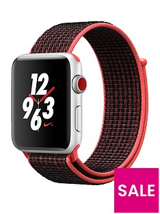 apple-watch-nike-series-3-gps-cellularnbsp42mm-silver-aluminium-case-with-bright-crimsonblack-sport-loop